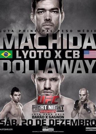 Постер UFC Fight Night: Machida vs. Dollaway