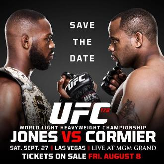 Постер UFC 182: Jones vs. Cormier