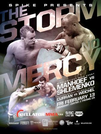 Постер Bellator 133: Shlemenko vs. Manhoef