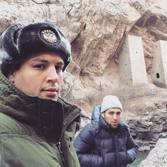 Винни Магальяеш и Арби Мурадов