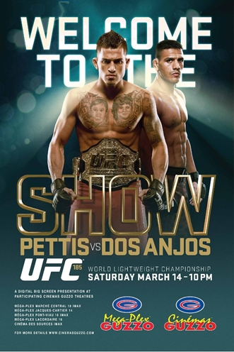 Постер UFC 185: Pettis vs. dos Anjos