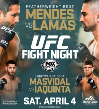 Постер UFC Fight Night: Mendes vs. Lamas