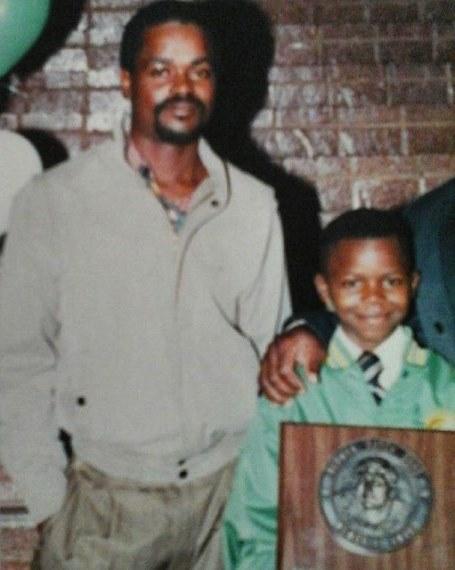 Мелвин Гиллард с отцом