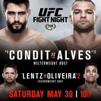Постер UFC Fight Night: Condit vs. Alves
