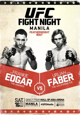 Постер UFC Fight Night: Edgar vs. Faber