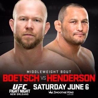Постер UFC Fight Night: Boetsch vs. Henderson