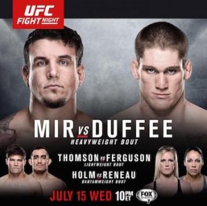 Постер UFC Fight Night: Mir vs. Duffee