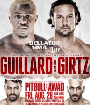 Постер Bellator 141: Guillard vs. Girtz
