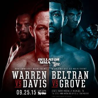 Постер Bellator 143: Warren vs. Davis