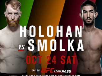UFC Fight Night: Holohan vs. Smolka