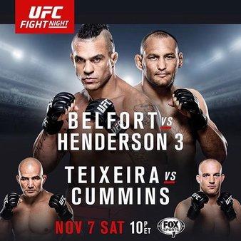 Постер UFC Fight Night: Belfort vs. Henderson 3
