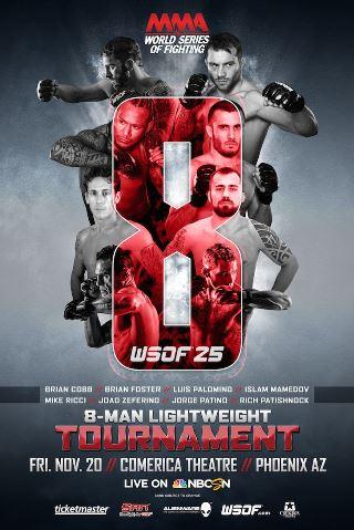 Постер WSOF 25: Lightweight Tournament