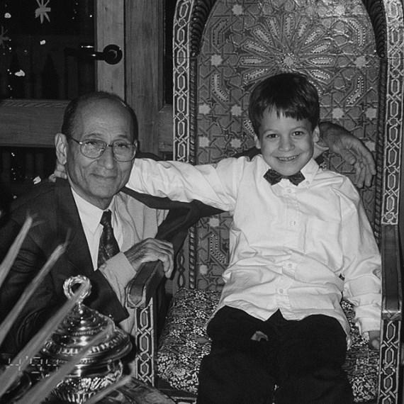Тарек Саффьедин с дедом
