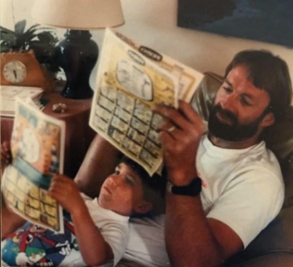 Люк Рокхолд с отцом