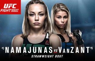 Результаты и бонусы UFC Fight Night: Namajunas vs. VanZant
