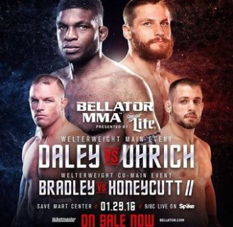 Результаты Bellator 148: Daley vs. Uhrich