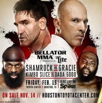 Результаты Bellator 149: Shamrock vs Gracie