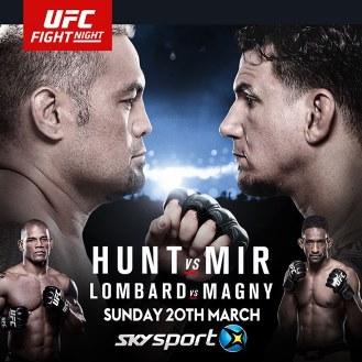 Результаты и бонусы UFC Fight Night: Hunt vs. Mir