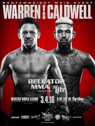Результаты Bellator 151: Warren vs. Caldwell