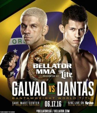 Результаты Bellator 156: Galvao vs. Dantas 2