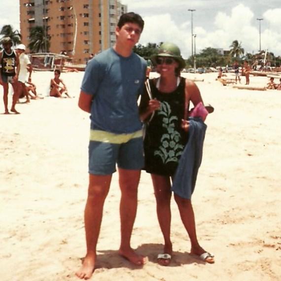 Педро Риззо с мамой