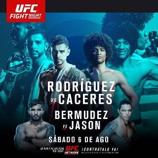 Результаты и бонусы UFC Fight Night: Rodríguez vs. Caceres