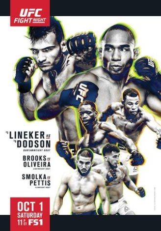 Результаты и бонусы UFC Fight Night: Lineker vs. Dodson