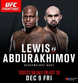 Результаты и бонусы UFC Fight Night: Lewis vs. Abdurakhimov