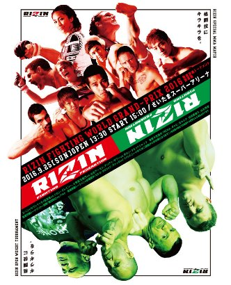 Результаты Rizin World Grand-Prix 2016: Final Round