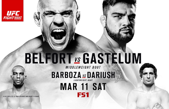 Результаты и бонусы UFC Fight Night: Belfort vs. Gastelum