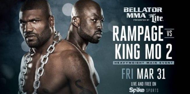 Результаты Bellator 175: Rampage vs. King Mo 2