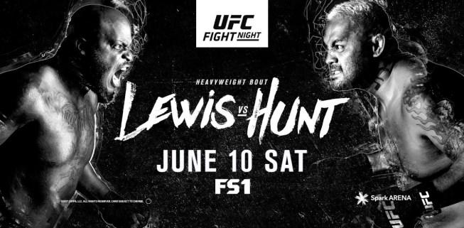 Результаты и бонусы UFC Fight Night: Lewis vs. Hunt