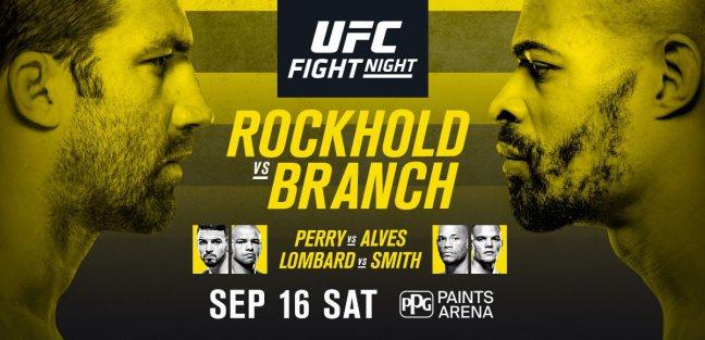 Результаты и бонусы UFC Fight Night: Rockhold vs. Branch