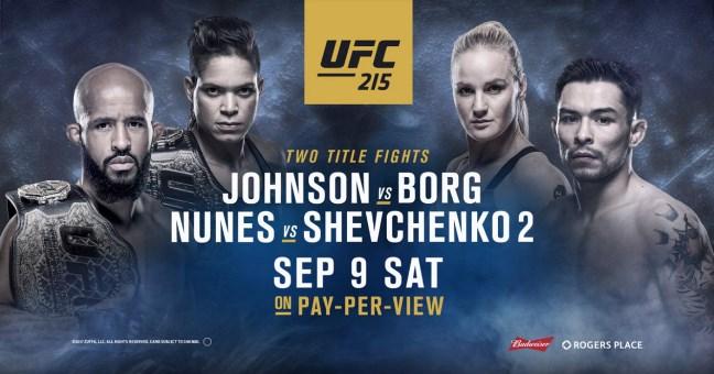 Результаты и бонусы UFC 215: Nunes vs. Shevchenko 2