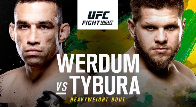 Результаты и бонусы UFC Fight Night: Werdum vs. Tybura