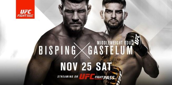 Результаты и бонусы UFC Fight Night: Bisping vs. Gastelum