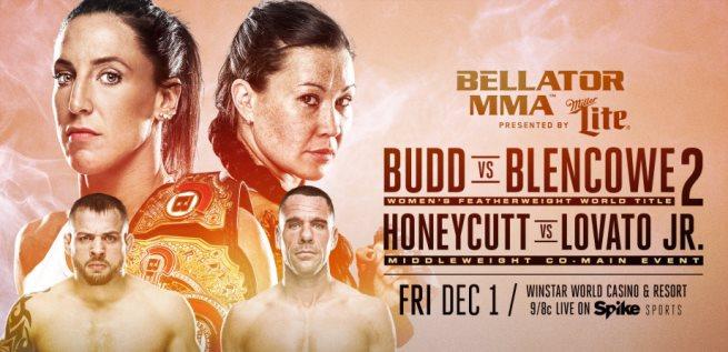 Результаты Bellator 189: Budd vs. Blencowe 2