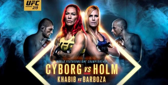 Результаты и бонусы UFC 219: Cyborg vs. Holm