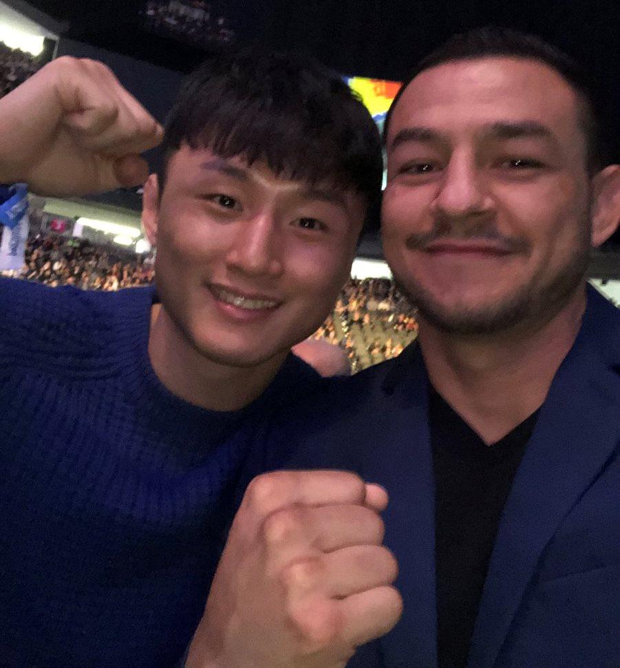 Ду Хо Чой и Каб Суонсон на UFC 219