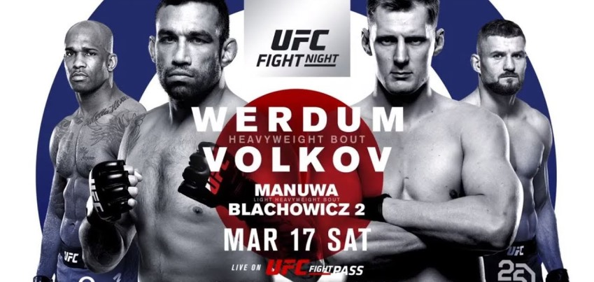 Результаты и бонусы UFC Fight Night: Werdum vs. Volkov