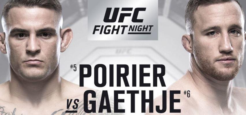 Результаты и бонусы UFC on Fox: Gaethje vs. Poirier