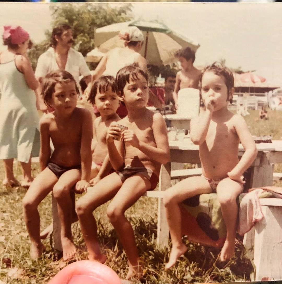 Лиото Мачида с братьями
