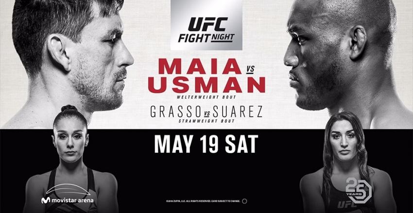 Результаты и бонусы UFC Fight Night: Usman vs. Maia