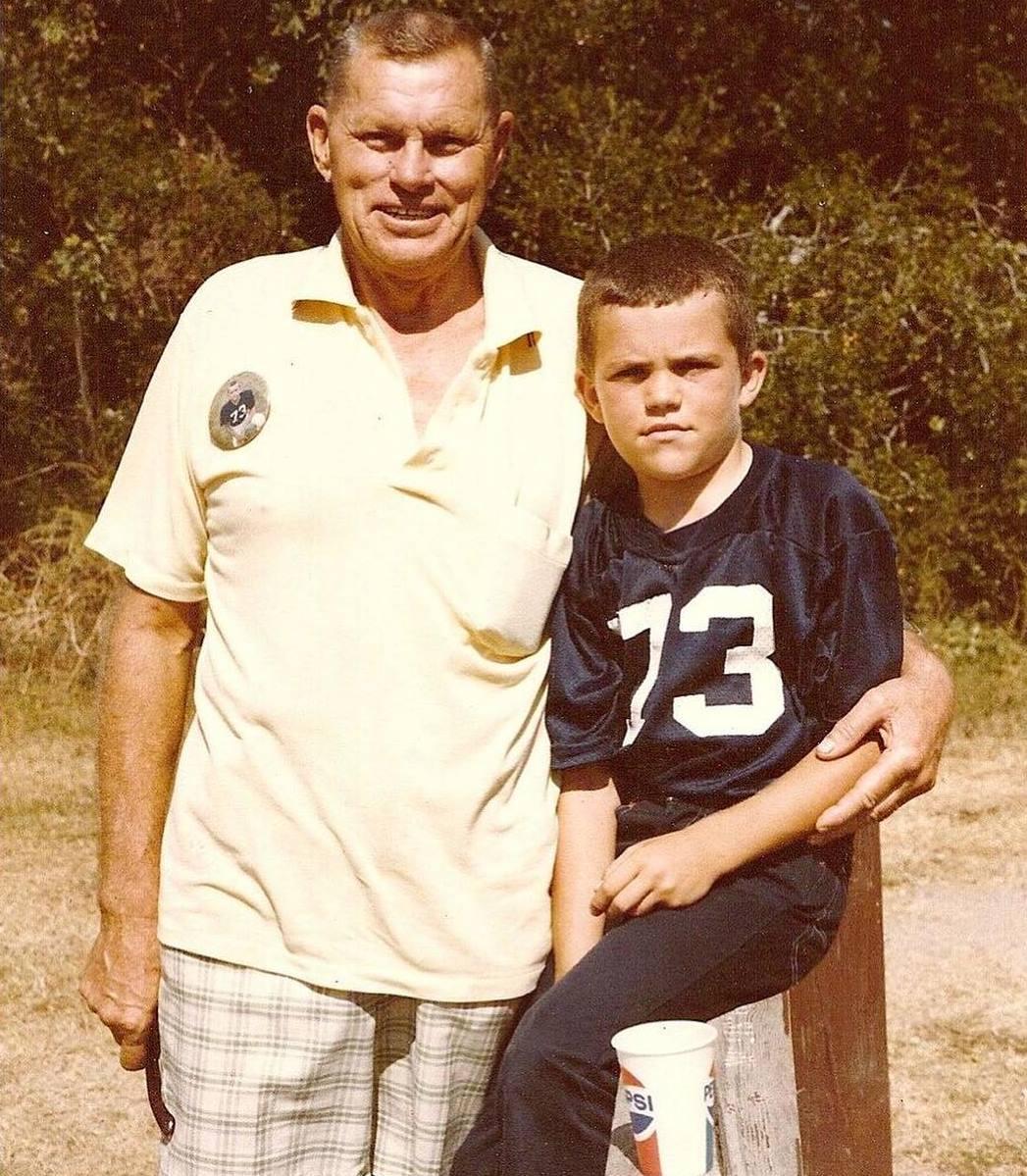 Чак Лидделл с дедом