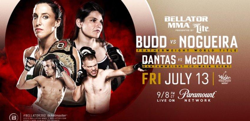 Результаты Bellator 202: Budd vs. Nogueira