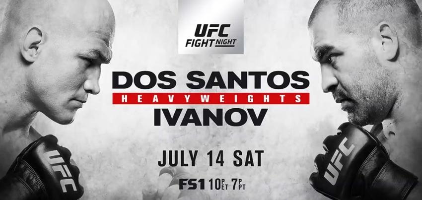 Результаты и бонусы UFC Fight Night: Dos Santos vs. Ivanov