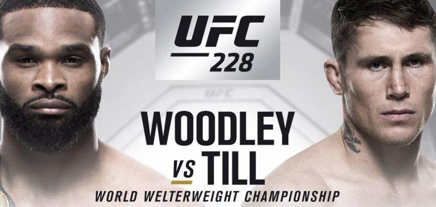 Результаты и бонусы UFC 228: Woodley vs. Till