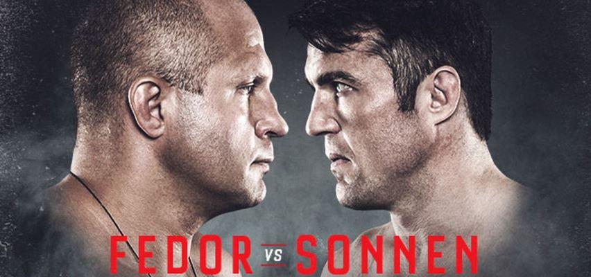 Результаты Bellator 208: Fedor vs. Sonnen