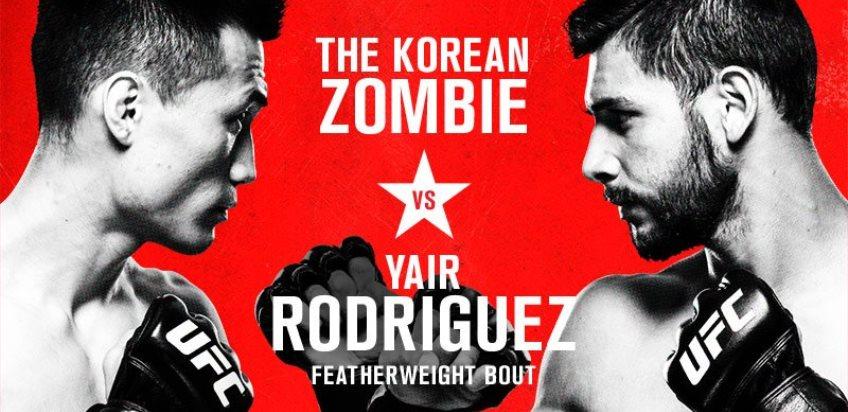 Результаты и бонусы UFC Fight Night: Korean Zombie vs. Rodriguez
