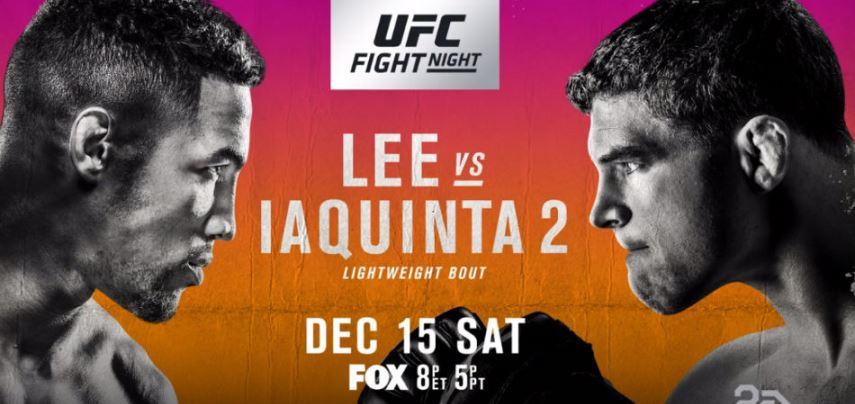 Результаты и бонусы UFC on FOX 31: Lee vs. Iaquinta 2